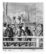 Trenton: Prisoners, 1776 Fleece Blanket