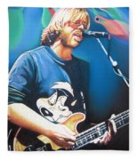 Trey Anastasio And Lights Fleece Blanket