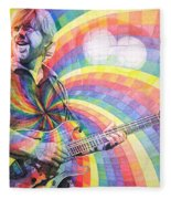 Trey Anastasio Rainbow Fleece Blanket
