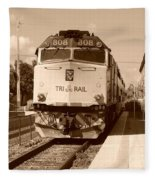 Tri Rail 808 Fleece Blanket