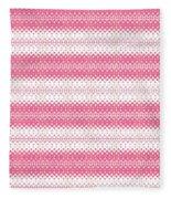 Tribal Pattern 04 Fleece Blanket