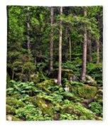Triberg Forest Fleece Blanket