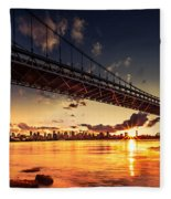 Triboro Sunset Fleece Blanket