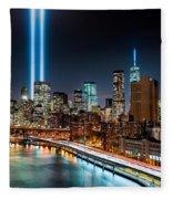 Tribute In Light Memorial Fleece Blanket