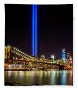 Tribute Lights From Brooklyn Fleece Blanket