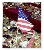 Tribute To Joplin Fleece Blanket