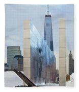 Tribute To Sept 11 Fleece Blanket