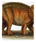 Triceratops Fleece Blanket