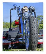 Tricycle Of Death Fleece Blanket