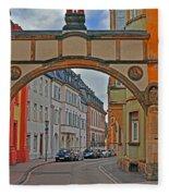 Trier Street Fleece Blanket
