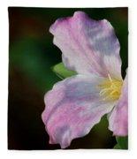 Trillium Blush Fleece Blanket