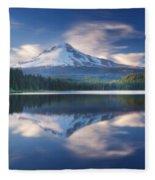 Trillium Lake Escape Fleece Blanket