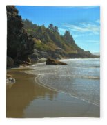 Trinidad Luffenholtz Beach Fleece Blanket