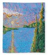 Trinity Lake 2 Fleece Blanket