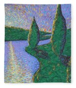 Trinity River Fleece Blanket