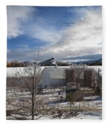 Trip To Baldwin City Kansas Fleece Blanket
