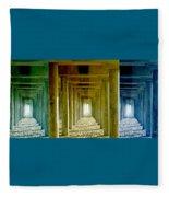 Triple Perspective Fleece Blanket