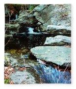 Triple Waterfall Fleece Blanket