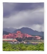 Tripler Army Medical Center Fleece Blanket