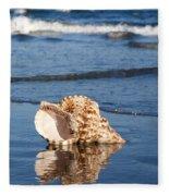 Triton Seashell Fleece Blanket