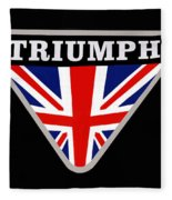 Triumph Emblem Fleece Blanket