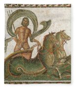 Triumph Of Neptune Fleece Blanket