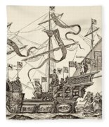 Triumphal Vessel Fleece Blanket