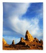 Trona Pinnacles California Fleece Blanket