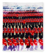 Trooping The Colour Fleece Blanket