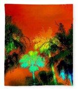 Tropical Blend Fleece Blanket
