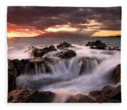 Tropical Cauldron Fleece Blanket