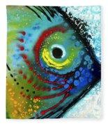 Tropical Fish - Art By Sharon Cummings Fleece Blanket