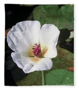 Tropical Flower Fleece Blanket