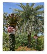 Tropical Garden Fleece Blanket
