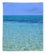 Tropical Seascape Fleece Blanket