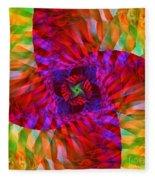 Tropical Twist Fleece Blanket