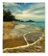 Tropical Waves Fleece Blanket