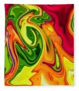 Tropics Fleece Blanket