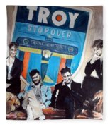 Troy Stopover Fleece Blanket