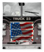 Truck 23 Fleece Blanket