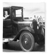 Truck Vintage Fleece Blanket