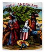 True Americans Fleece Blanket