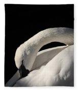 Trumpeter Fleece Blanket