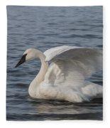 Trumpeter Swan - Profile Fleece Blanket
