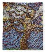 Trunk Of A Tree Fleece Blanket