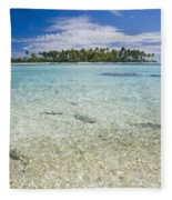 Tuamatu Islands Fleece Blanket