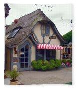 Tuck Box Tearoom - Carmel California Fleece Blanket