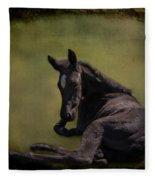 Tuckered Out Fleece Blanket