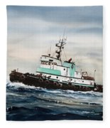 Tugboat Island Champion Fleece Blanket