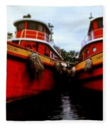Tugs Fleece Blanket